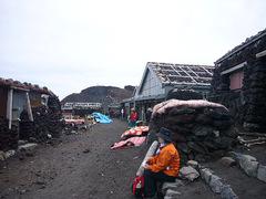富士山頂の街並みw