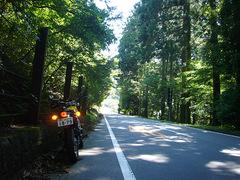 涼しくて絶好のバイク日和でした