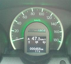 平均燃費計