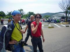 灼熱の亀石峠
