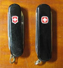 左:スイスライト, 右:マイクロライト